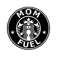 Mom Fuel Die Cut Vinyl Decal pv3072